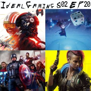 IdealGaming S02 EP20 - Star Wars Squadron, Cyberpunk 2077, Marvel's Avengers & co.