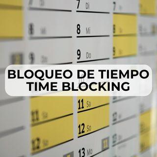 15 Bloqueo de tiempo o time blocking