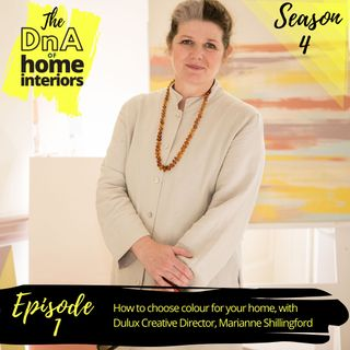 How to choose colour for your home, with Dulux Creative Director, Marianne Shillingford
