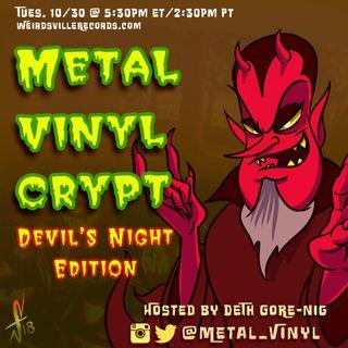 Metal Vinyl Crypt - Devil's Night Edition
