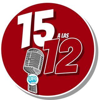 LOS 15 A LAS 12