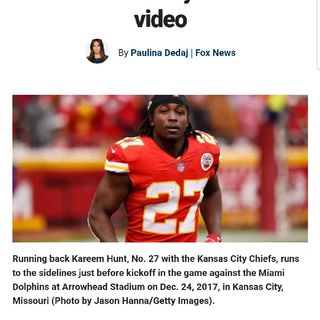 "NFL ""Black Players"" In Trouble Again (Kareem Hunt & Reuben Foster) Domestic Violence"