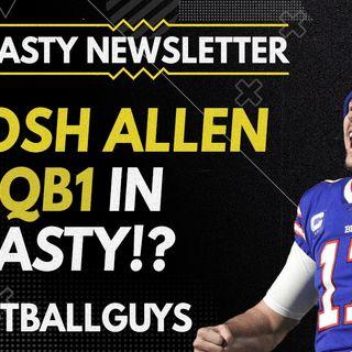 Is Josh Allen THE QB1 in Dynasty? - 2021 Dynasty Fantasy Football