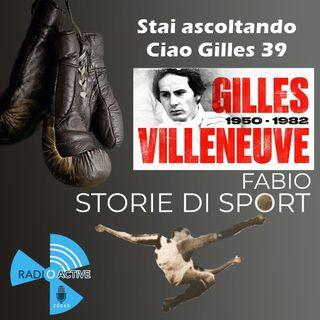 Ciao Gilles 39 . Tributo a Gilles Villeneuve
