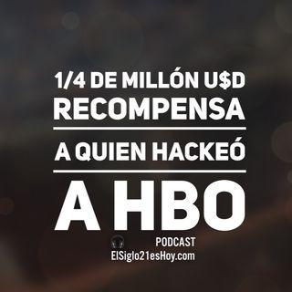 'Recompensa' al hackeador de HBO