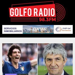 Fallece otro grande del fútbol mundial : Paolo Rossi danza con el balón en el firmamento