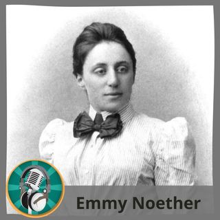 Claudia con Emmy Noether