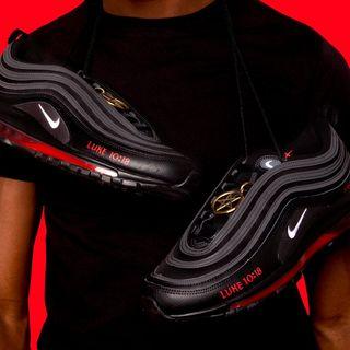 Lil Nas X Luke 10:18 Montero and Satan Shoes