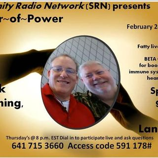 HOUR~of~POWER, with special guest speaker A.J.Lanigan, on Beta Glucan