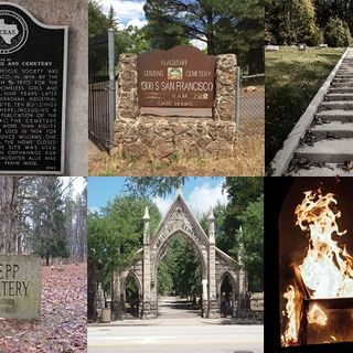 Ep. 382 - Haunted Cemeteries 18 and Cremation