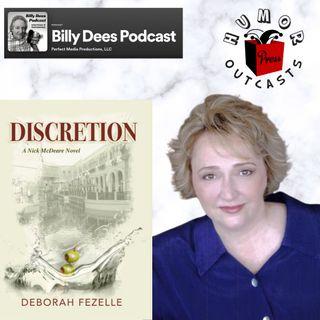 "HumorOutcasts Interview with Deborah Fezelle Author of ""Discretion"""