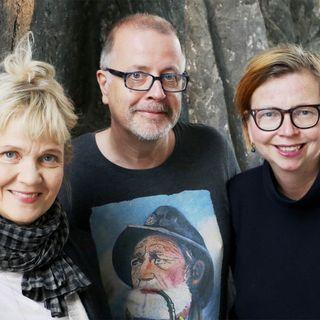 Maja Aase, Jonathan Lindström och Gabriella Ahlström