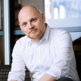 Martin Rydberg arbetar med nya företagare