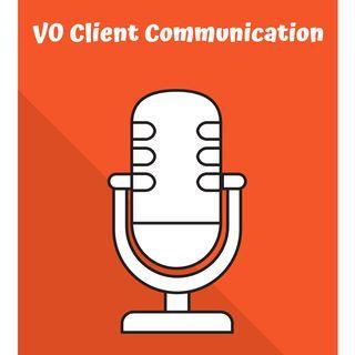 Voiceover Client Communication