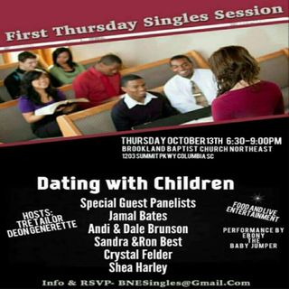 First Thursday Singles Session:  Dating with Children