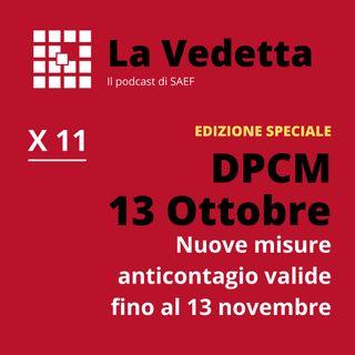 Edizione Speciale: DPCM 13 Ottobre - nuove misure valide fino al 13 novembre