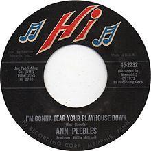 Ann Peebles - I'm Gonna Tear Your Playhouse Down- www.BartShore.com