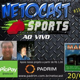 NETOCAST 1129 DE 20/03/2019 - ESPORTES - F1 - FUTEBOL - NBA