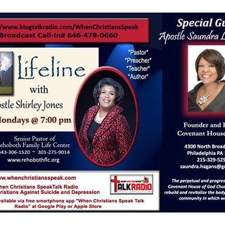 "LifeLine with Apostle Shirley Jones &  Apostle Saundra Hagans""BE"""