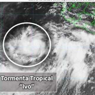 Se forma Ivo frente a costas de Colima