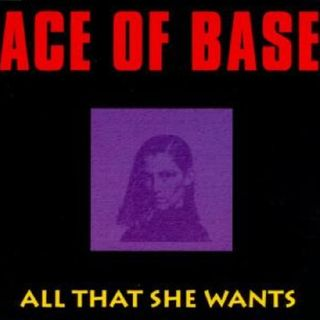 """Ace of Base ALL THAT SHE WANTS - 12"""" EXTENDED VERSION -"""