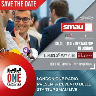 SMAU ARRIVA A LONDRA  IL 2-3 E 4 MAGGIO SMAU | ITALY RESTARTS UP IN LONDON