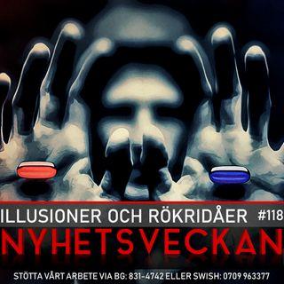 Nyhetsveckan #118 – Illusioner och rökridåer, politisk islam förbjuds, våldsvänstern