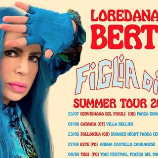 """Loredana Bertè live: a luglio partirà il """"Figlia di… Summer Tour"""""""