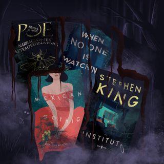 4 libros de thriller, suspenso y terror (Especial)