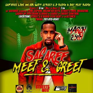 """SAFAREE"" IN BUILDING TUNE IN EVERY SUNDAY DAT HEAT RADIO"