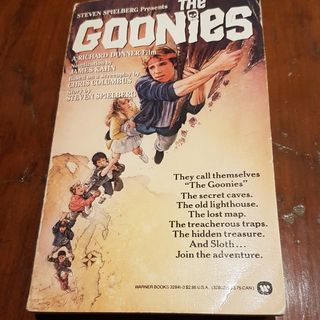 The Goonies novelization live read - Part 2