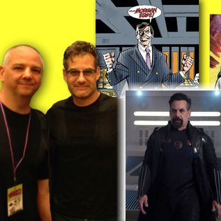 #265: Agents of SHIELD and Supergirl's Adrian Pasdar talks villains and comics!