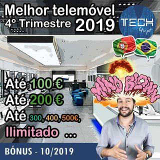BONUS - O melhor smartphone 2019 até 100€, 200€, 300€, 400€, 500€ (4º trimestre 2019)