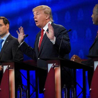 GOP Presidential Candidates Try To Script Their Debates