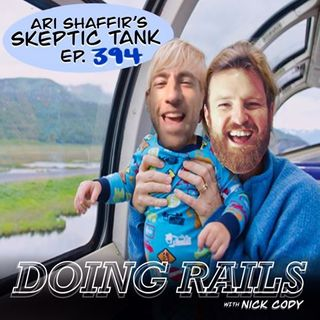 394: Doing Rails (w/ Nick Cody) (nick cody virus train o&a portland australia myanmar shah shan state food poisoning toilet quarantine hotel