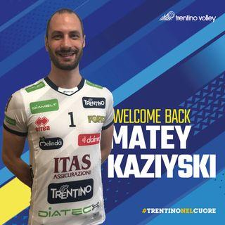 """Kaziyski """"Era arrivato il momento di tornare a Trento, casa mia"""""""
