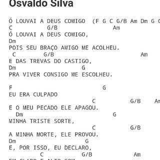 Oh! Louvai A Deus Comigo - Prof. Carlos Pinto.