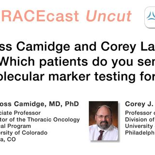 "Drs. Ross Camidge and Corey Langer on ""Which patients do you send molecular marker testing for?"""