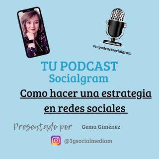 Como hacer una estrategia en redes sociales