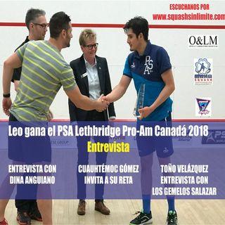 Leo Gana El PSA Lethbridge Canadá