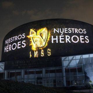 Mural a los Héroes de la Salud