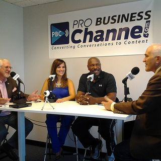Lee Haney Eight time Mr. Olympia, Fitness Games and Katrina Julia with FIT Life Creation on the Buckhead Business Show