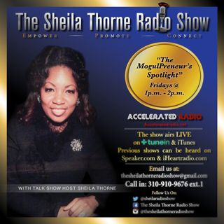 The Sheila Thorne Radio Show 8-18-17 *Sharon Marie Cline Special Guest*
