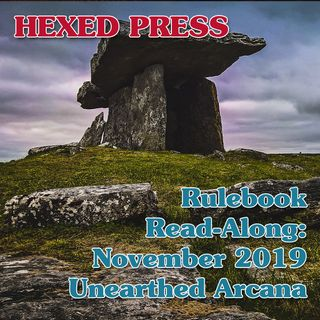 Rulebook Read-Along: Unearthed Arcana, November 2019