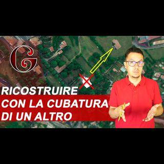 CESSIONE CUBATURA e diritti edificatori: DETRAZIONI per ricostruzione fabbricato su terreno agricolo