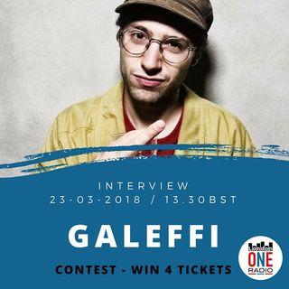 GALEFFI - in CONCERTO A LONDRA 5/04 al 93 Feet East