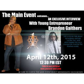 Guest: Brandon Gathers/Just Be You PT2