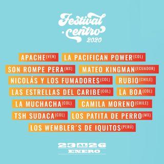 Festival Centro 2020, ¡imperdible ¡