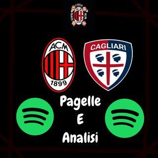 GRAZIE RAGAZZI !! || Milan Cagliari 3-0