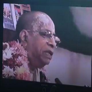 Ascolto dai video di Srila Prabhupada (18 luglio 2019)